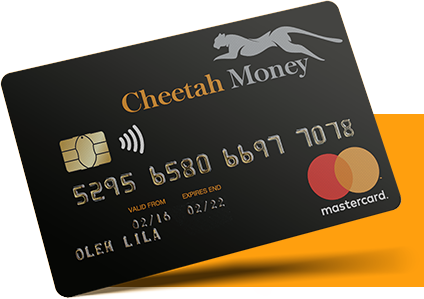 Study and Protect - Cheetah Money Card