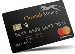 Study and Protect Cheetah Money Card